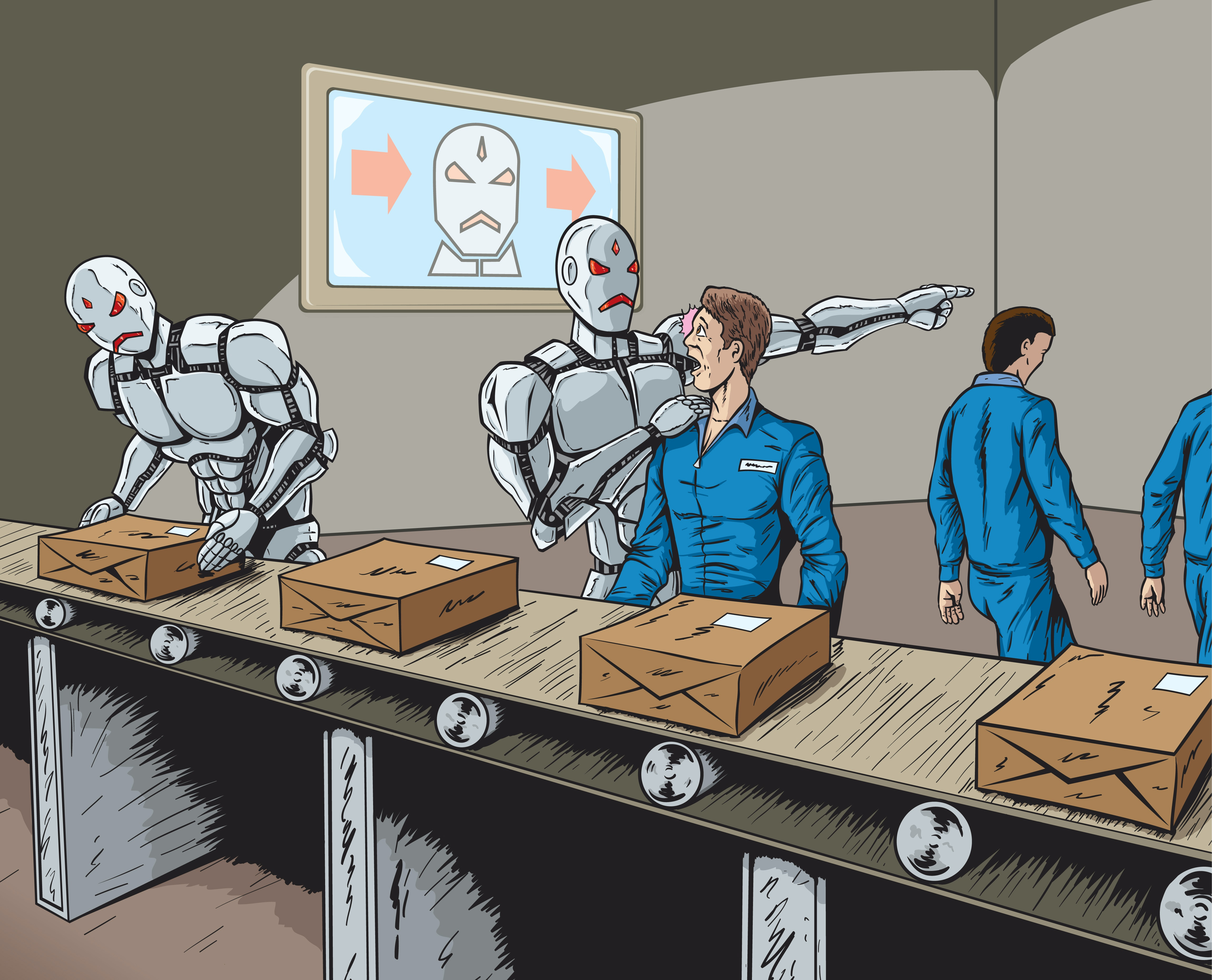 Image result for robots taken over jobs
