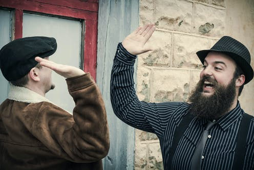 Hirsutes you sir: but that beard might mean more to men than