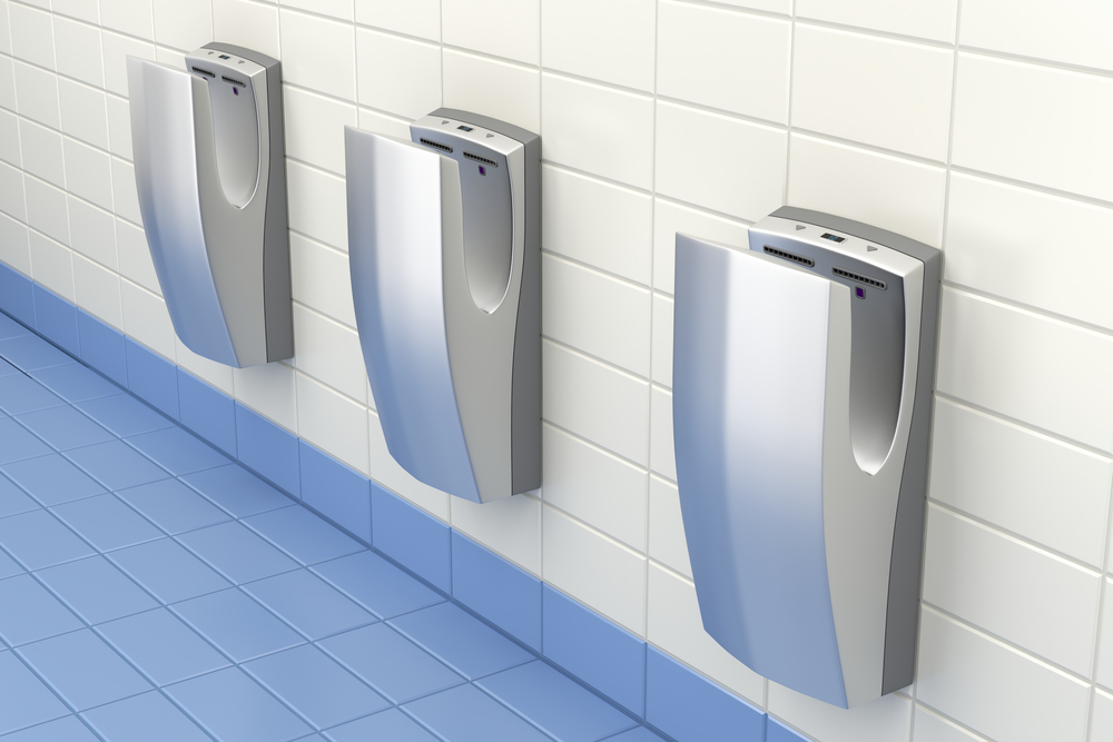 Jet-Air Dryers Should Not Be Used in Hospital Toilets