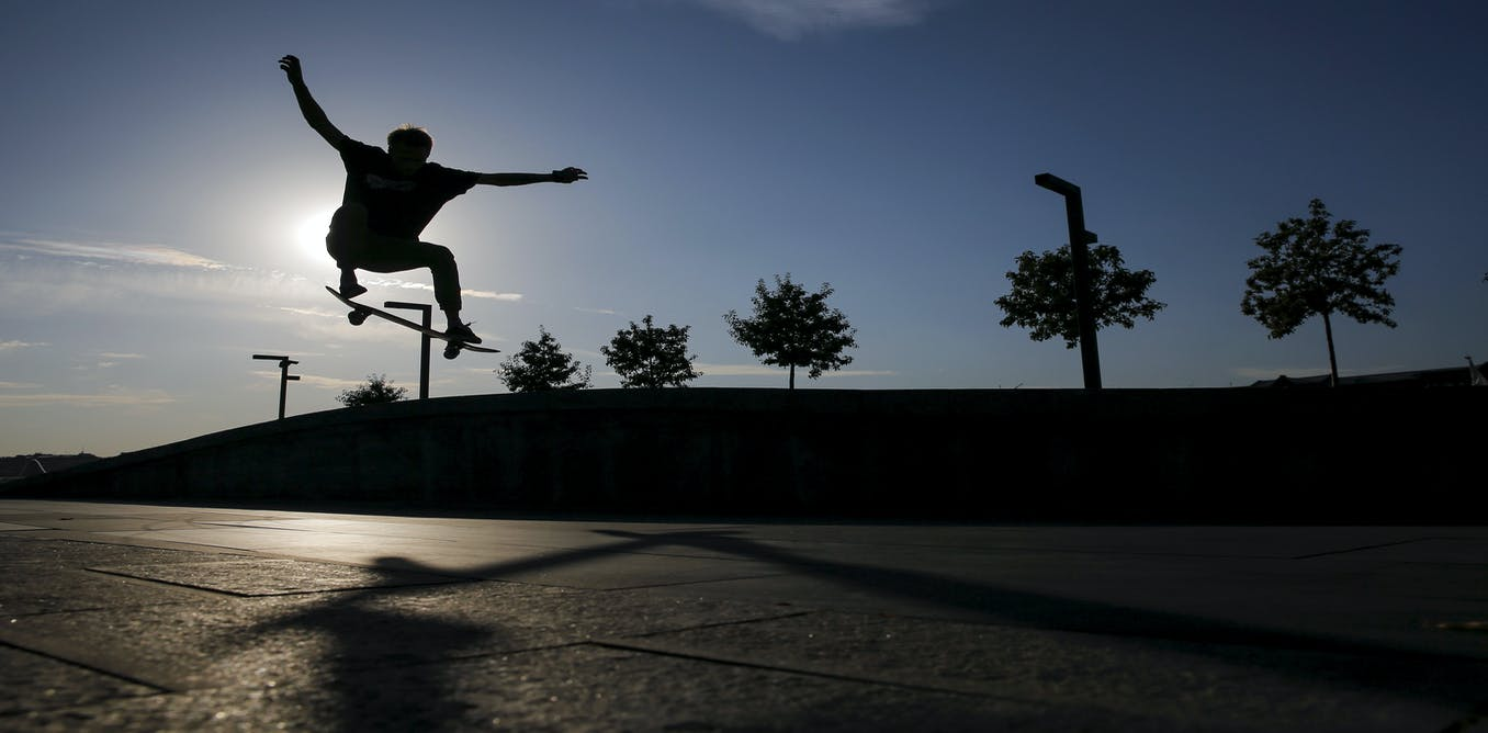 skateboarding is good for you  u2013 and good for public places
