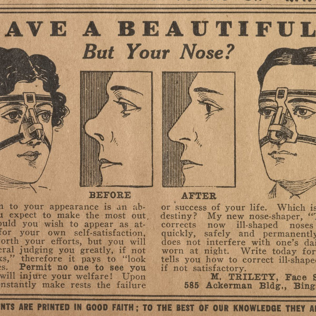 Friday essay: the ugly history of cosmetic surgery