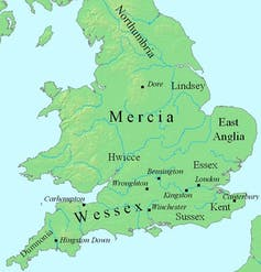 Viking invaders struck deep into the west of England – and