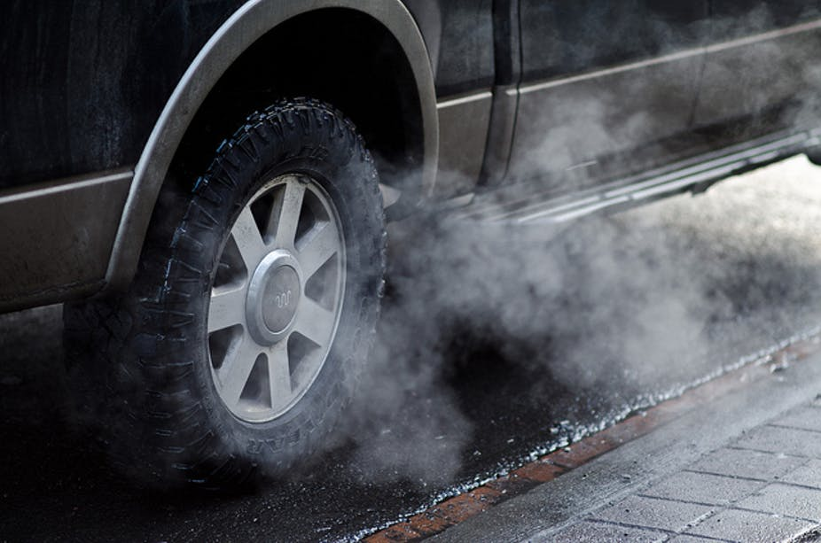 Creating a stink about traffic pollution