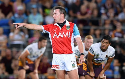 Split Second Decisions With Little Praise So What Does It Take To Ref A Game Of Nrl