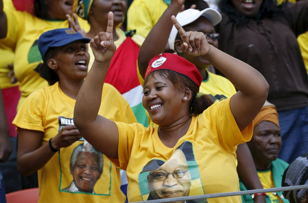 South Africa's ANC has remained dominant despite shifts in support base