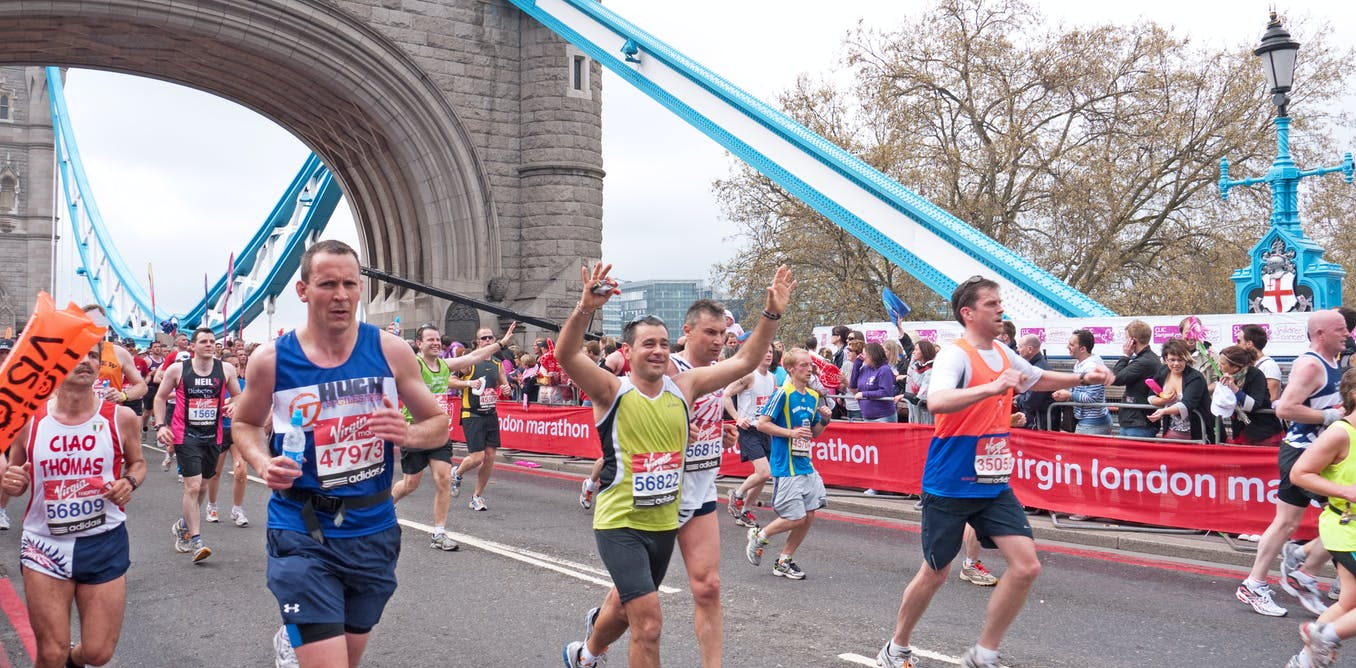 How to run a marathon (hint: it's all in the mind)
