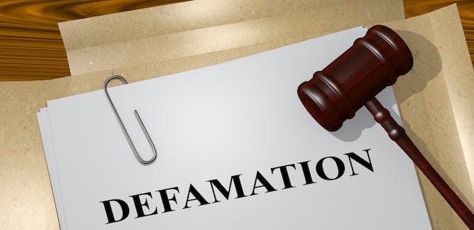 defamation in law