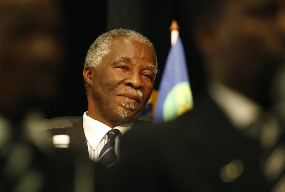 Mbeki's dream of Africa's renaissance belied South Africa's