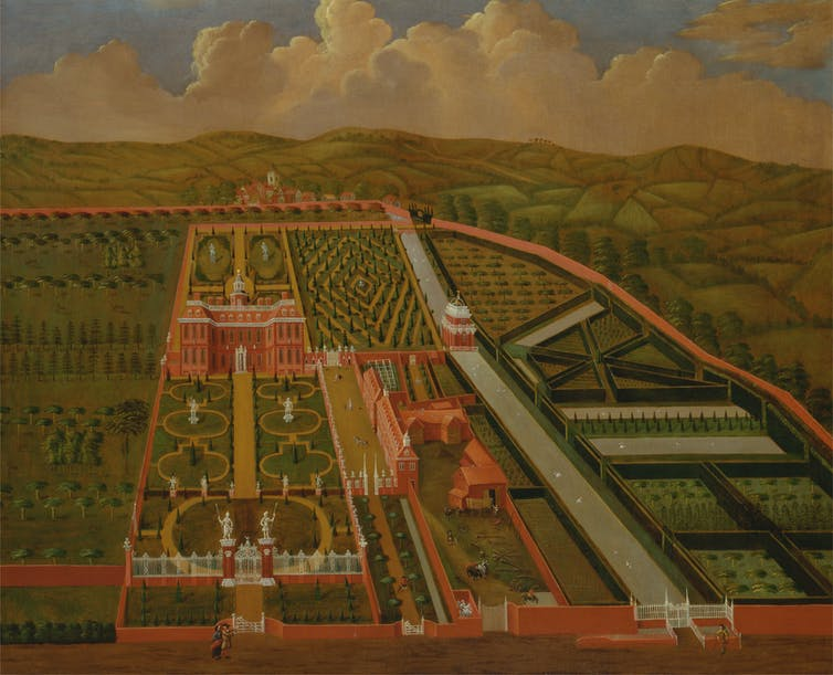 How an 18th century landscape architect influenced housing for Garden design 18th century