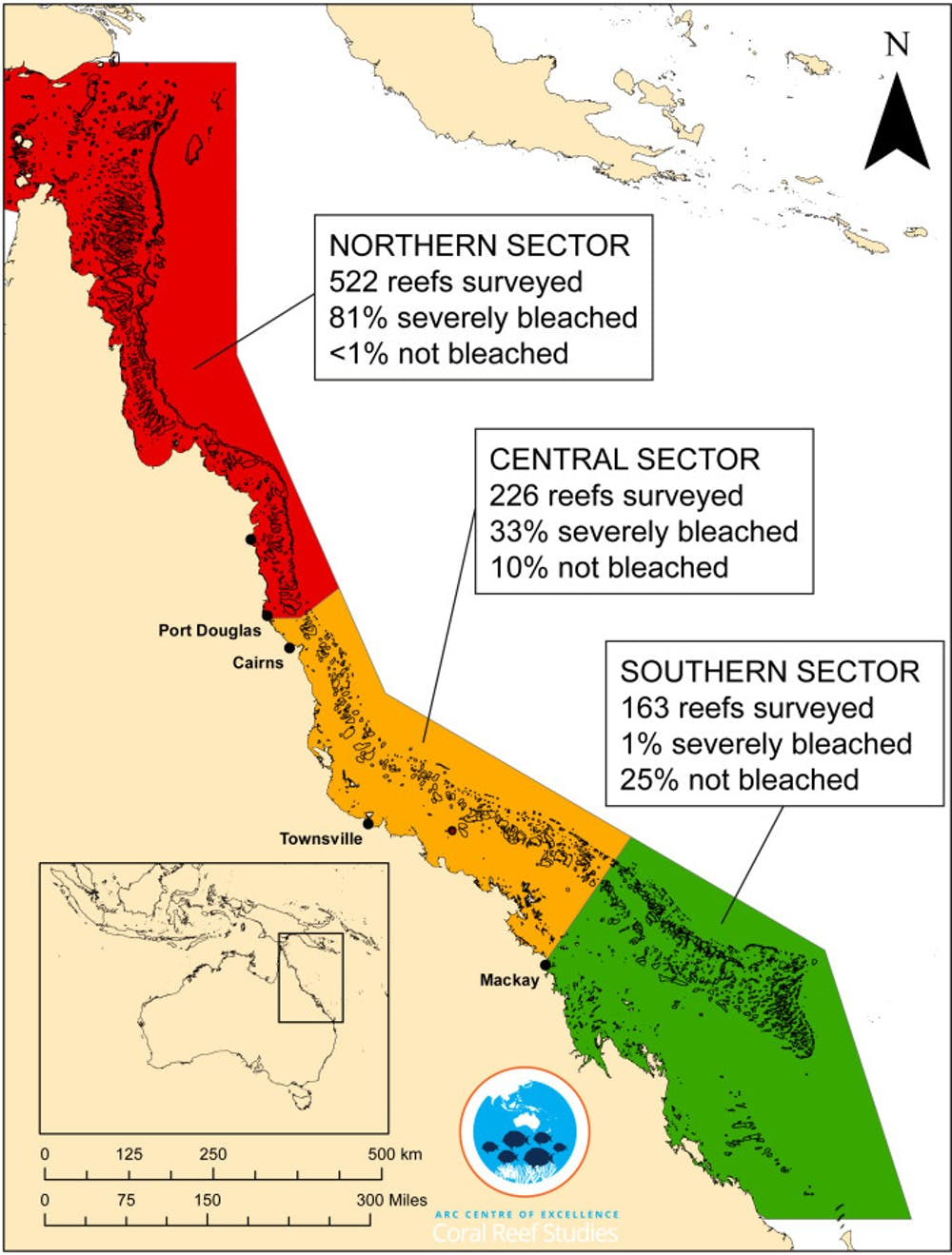 Great Barrier Reef Bleaching Stats Are Bad Enough Without