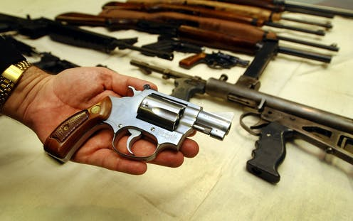 scholarly articles on pro gun control