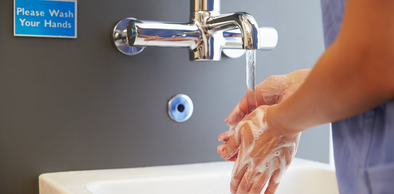 Hand Washing Stops Infections So Why Do Health Care