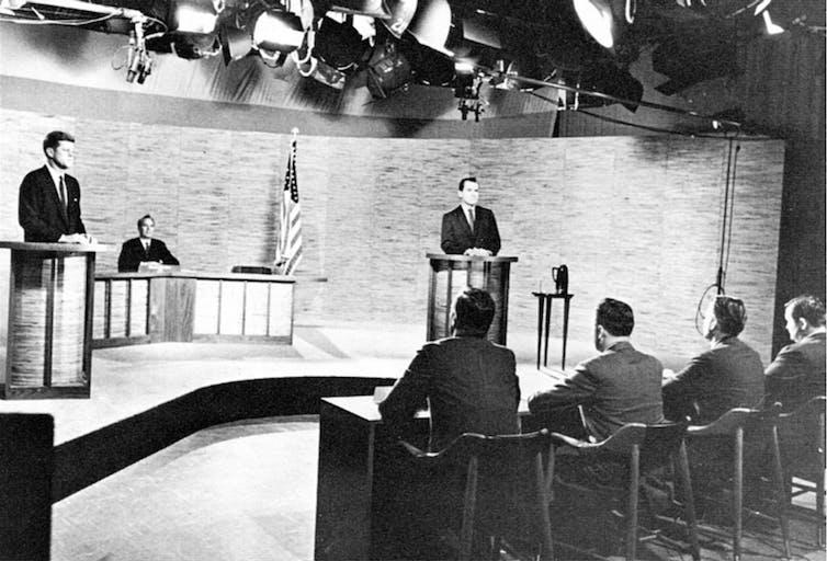 Image result for 1960 election debate