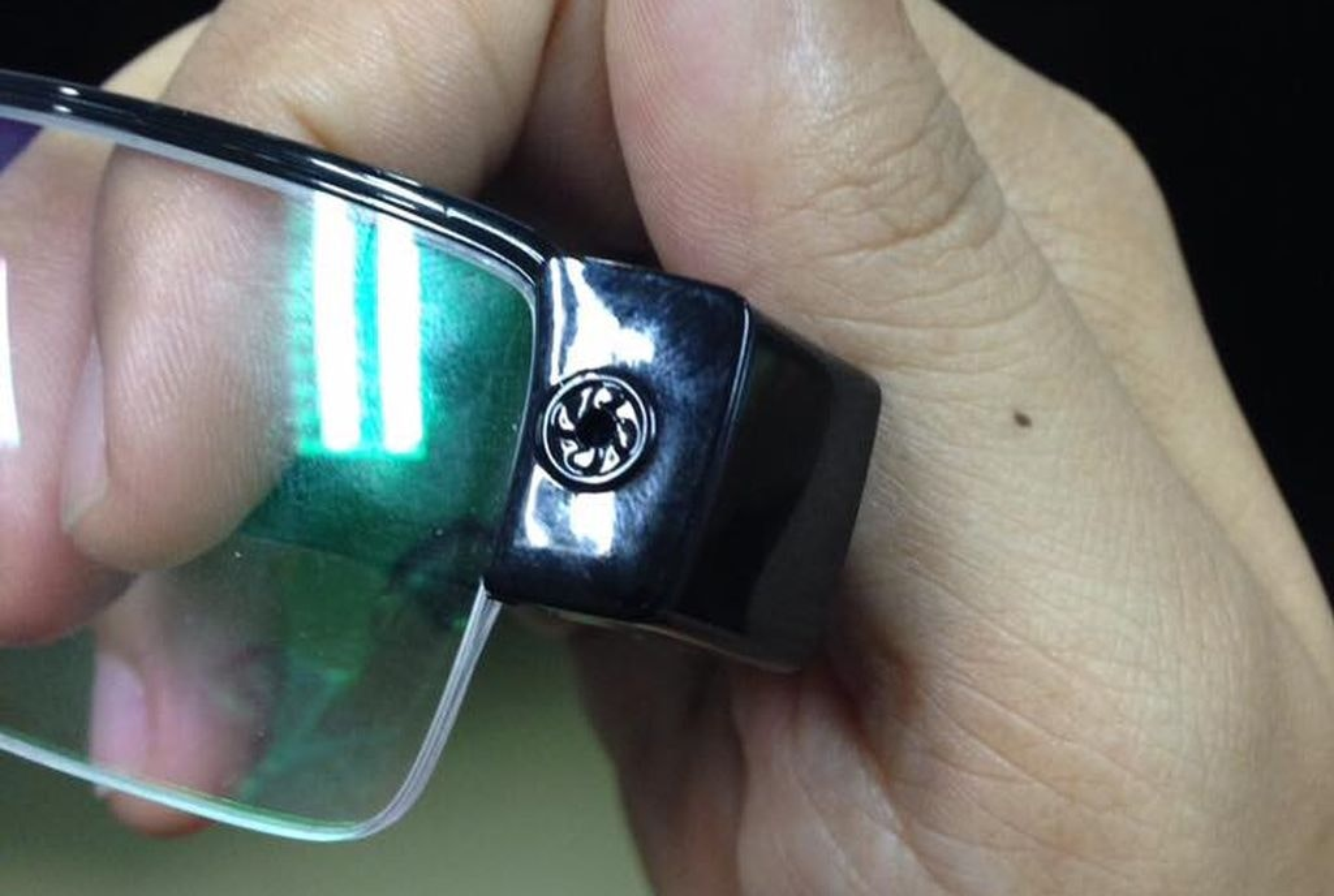 Eye glass hidden camera sex