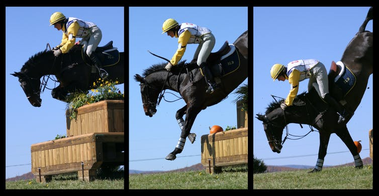 A single misstep can be very costly when eventing. How risky is horse riding?