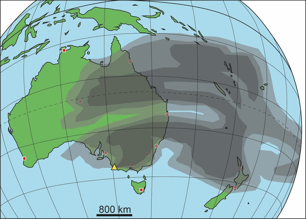 Australia S Volcanic History Is A Lot More Recent Than You Think