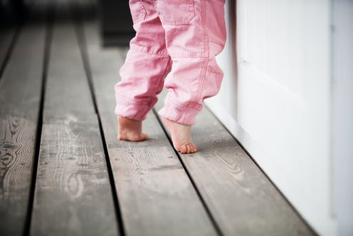 What it means when kids walk on their toes