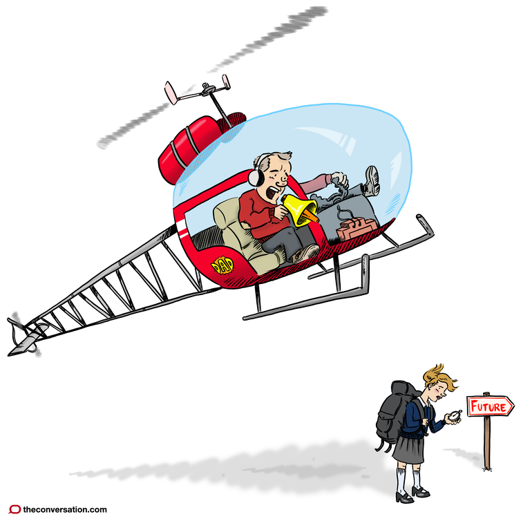 how to helicopter parent style essay