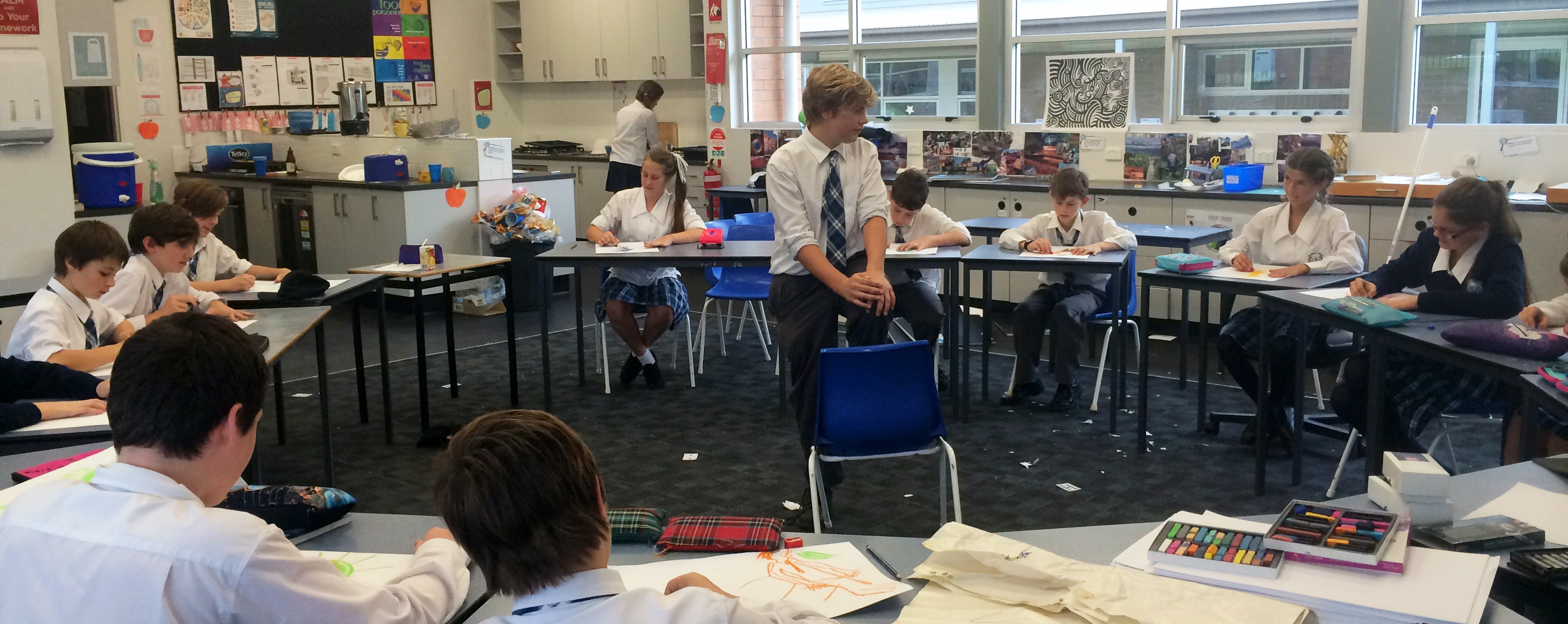 Why is teaching kids to draw not a more important part of the curriculum?