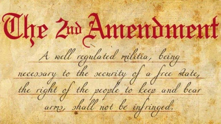 Le deuxième amendement de la Constitution des États-Unis : une loi constitutionnelle en faveur du port d'armes
