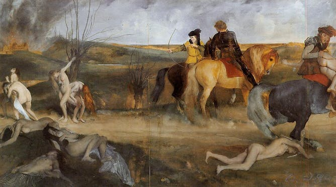 friday essay when manet met degas