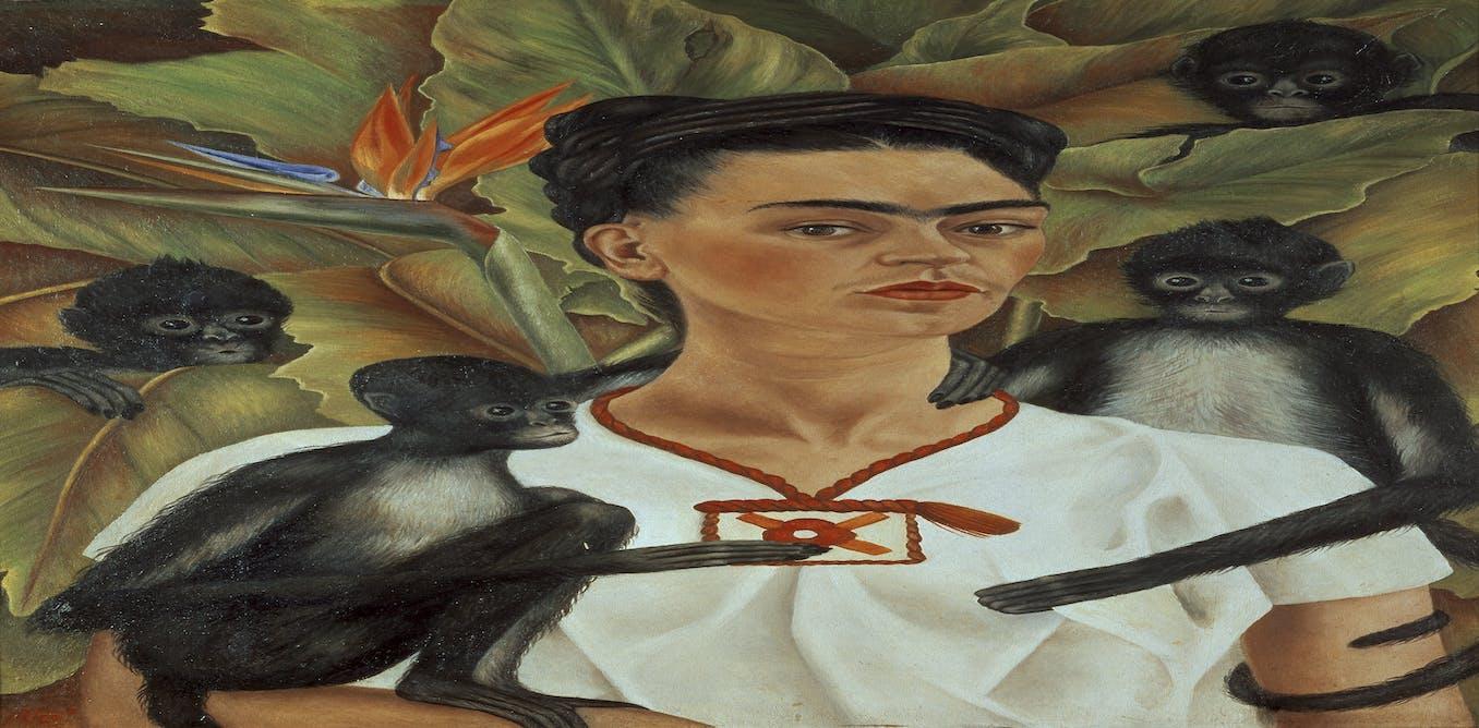Frida Kahlo: Self-Portrait with Monkey   Campaign!