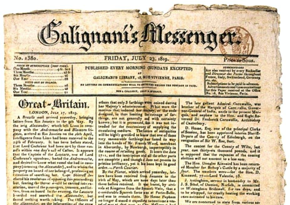 Essay about a messenger or informer