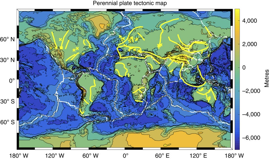 World Map Of Plate Boundaries.Plate Tectonics New Findings Fill Out The 50 Year Old Theory That