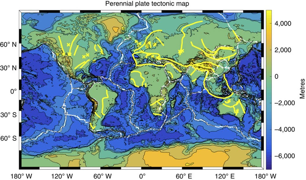 Plate tectonics: new findings fill out the 50-year-old ... on four regions of earth, three regions of earth, difference in temperatures on earth,