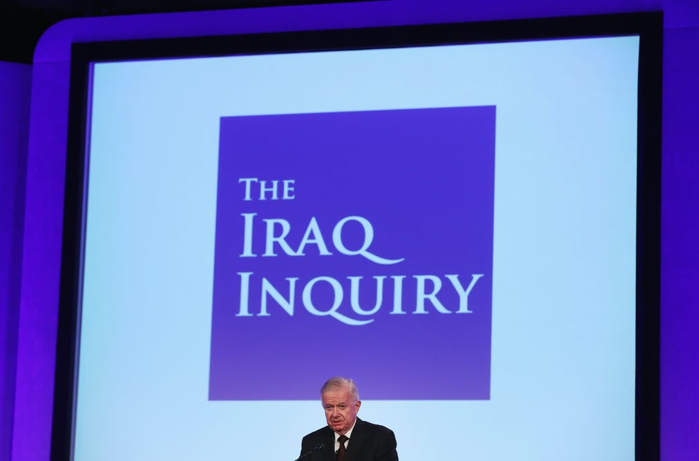 Chilcot scolds Britain's intelligence community for its role in the