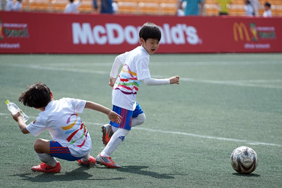 Unhealthy sport sponsorship continues to target kids