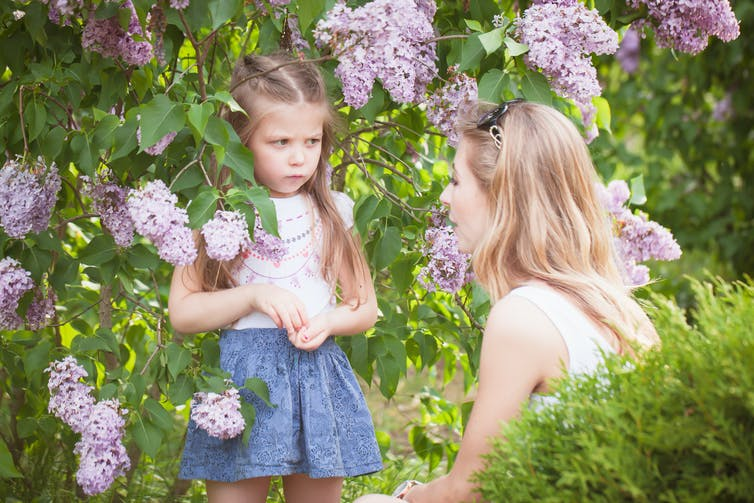 Should parents ask their children to apologize?