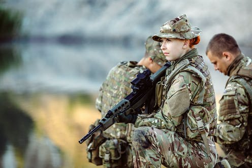 a83a16ee British women will soon be able to serve on the military frontline – but  are they ready to fight?