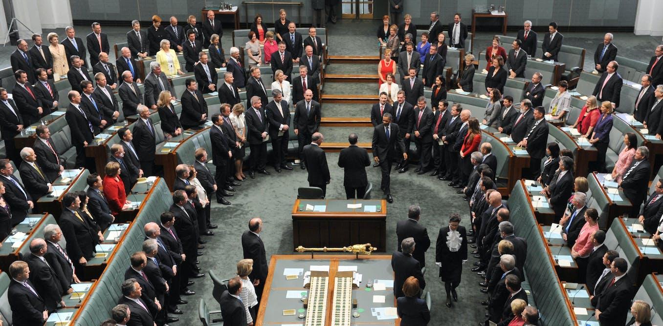 passage of bill through australian parliament