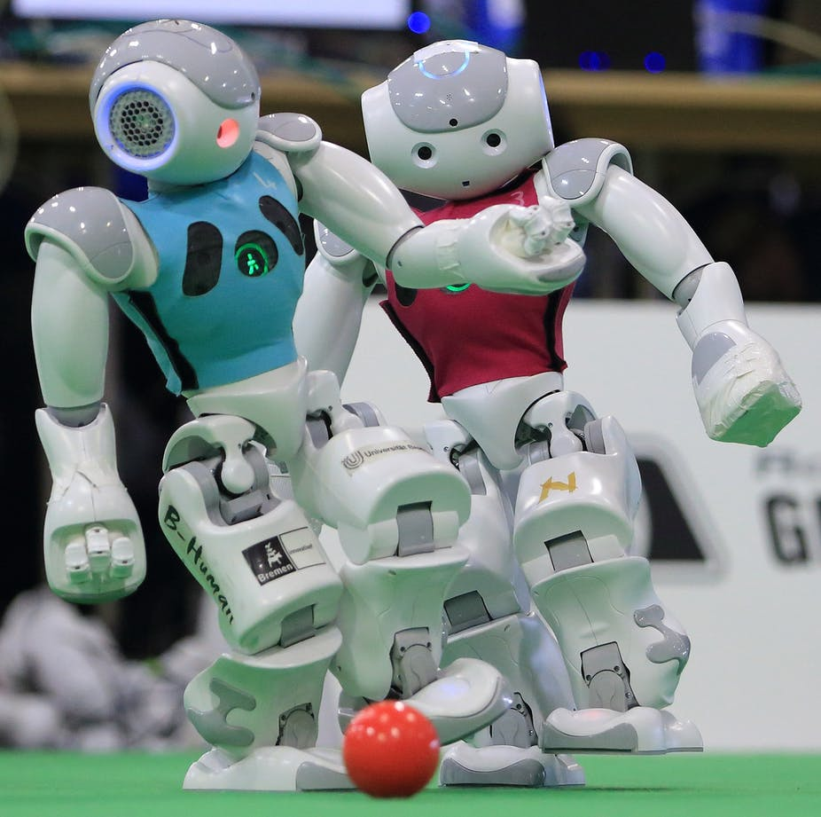 Why Football Not Chess Is The True Final Frontier For Robotic Short Circuit Robots Artificial Intelligence