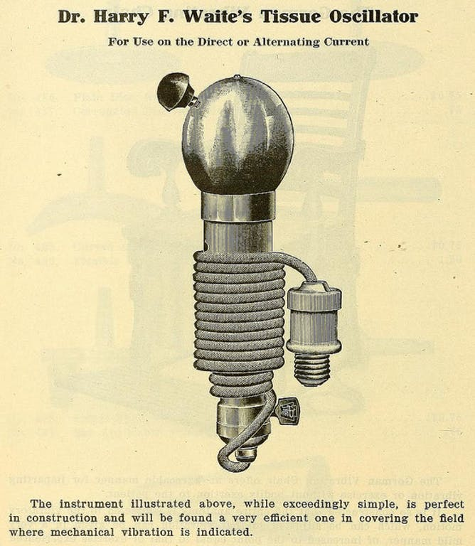 1930 dildo physicians hysteria