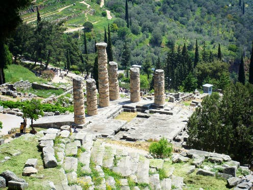 Friday essay: secrets of the Delphic Oracle and how it