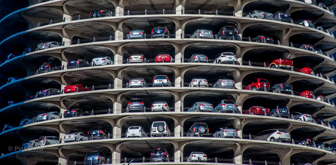 Heres what maths can teach us about how to design the perfect car park