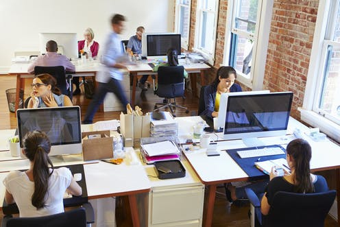 The backlash against open plan offices: segmented space