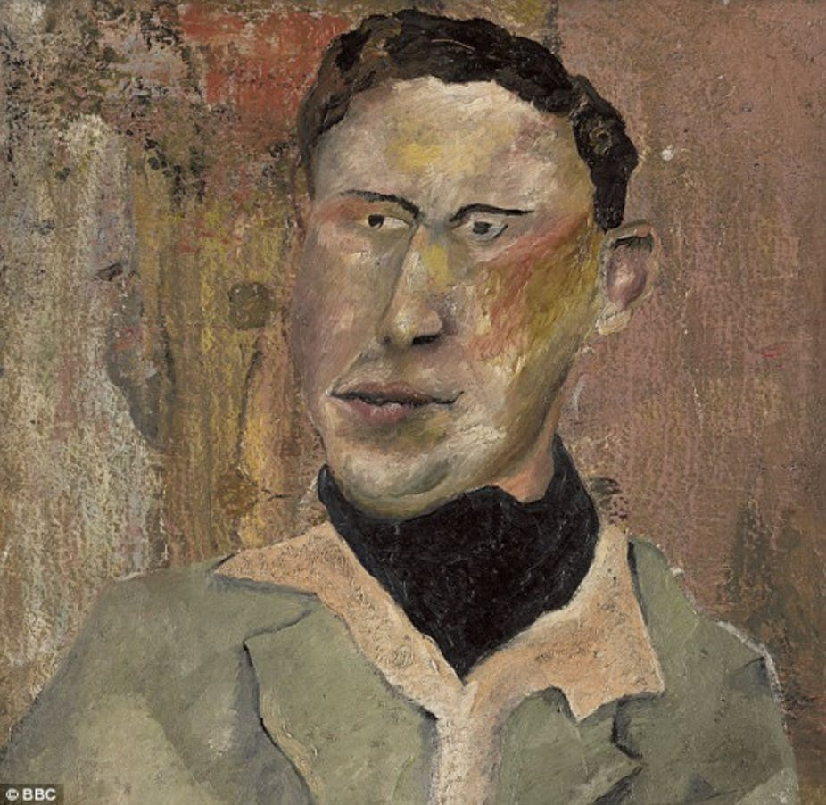 lucian freud denied this painting was his so how could the bbc