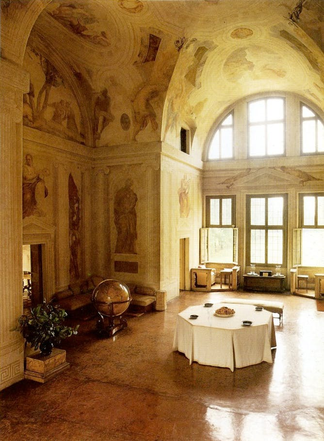 friday essay why a building and its rooms should have a human the distinctive atmosphere and ambience of every room in villa foscari are no accident