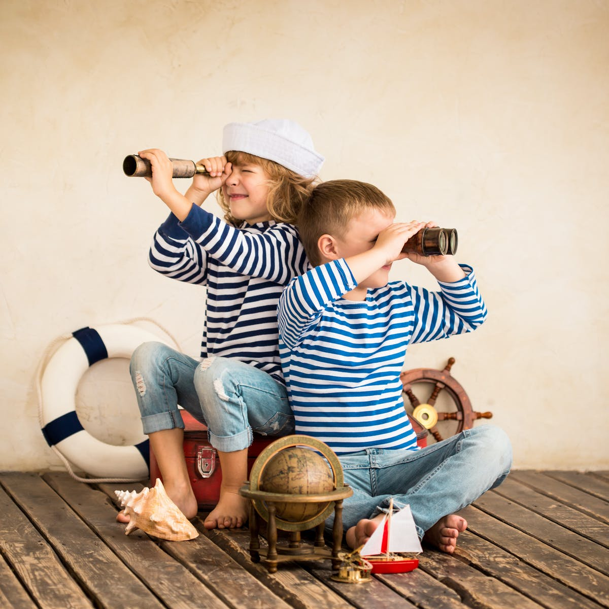 Help your children play out a story and watch them become more creative