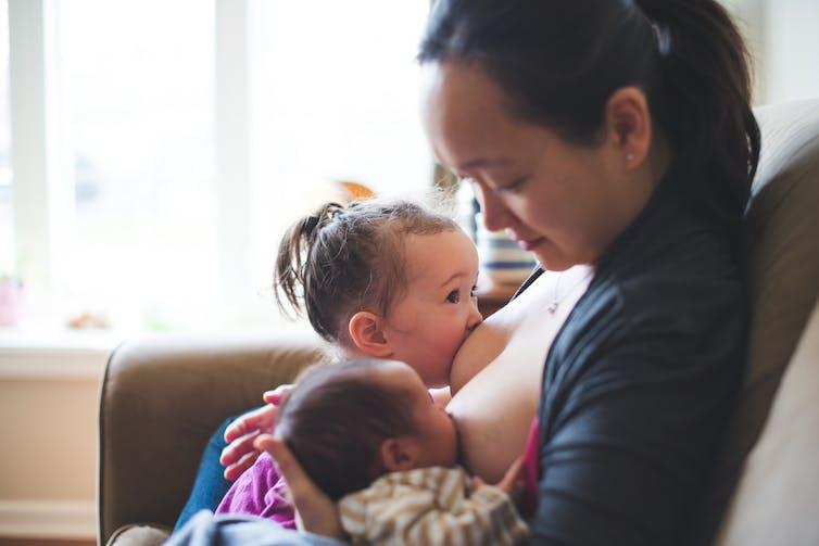 Breastfeeding Older Children Photos