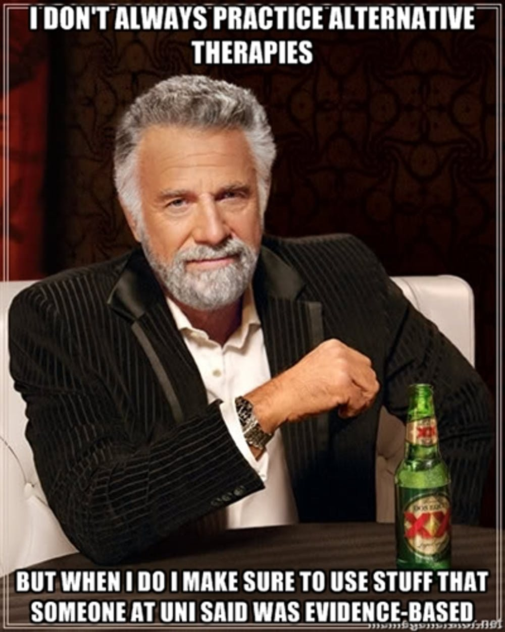 The most interesting man in the world weighs into the debate memegenerator net