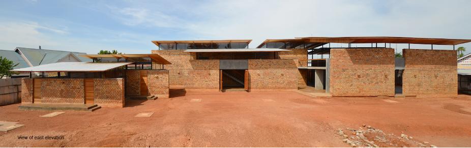 The African Union Laboratory In Nansana A Suburb Of Kampala Uganda Ikko Kobayashi And Fumi Kashimura Terrain Architects