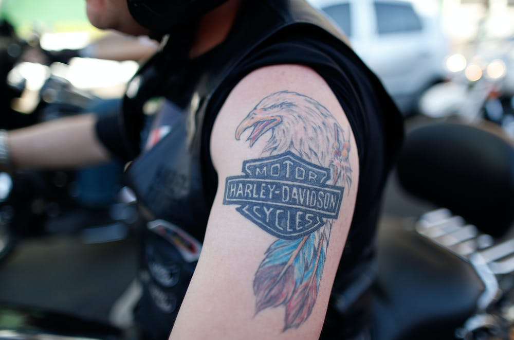 ad03853ca ... tattoo. More of an outlaw than maybe he knows. Charles Platiau/Reuters