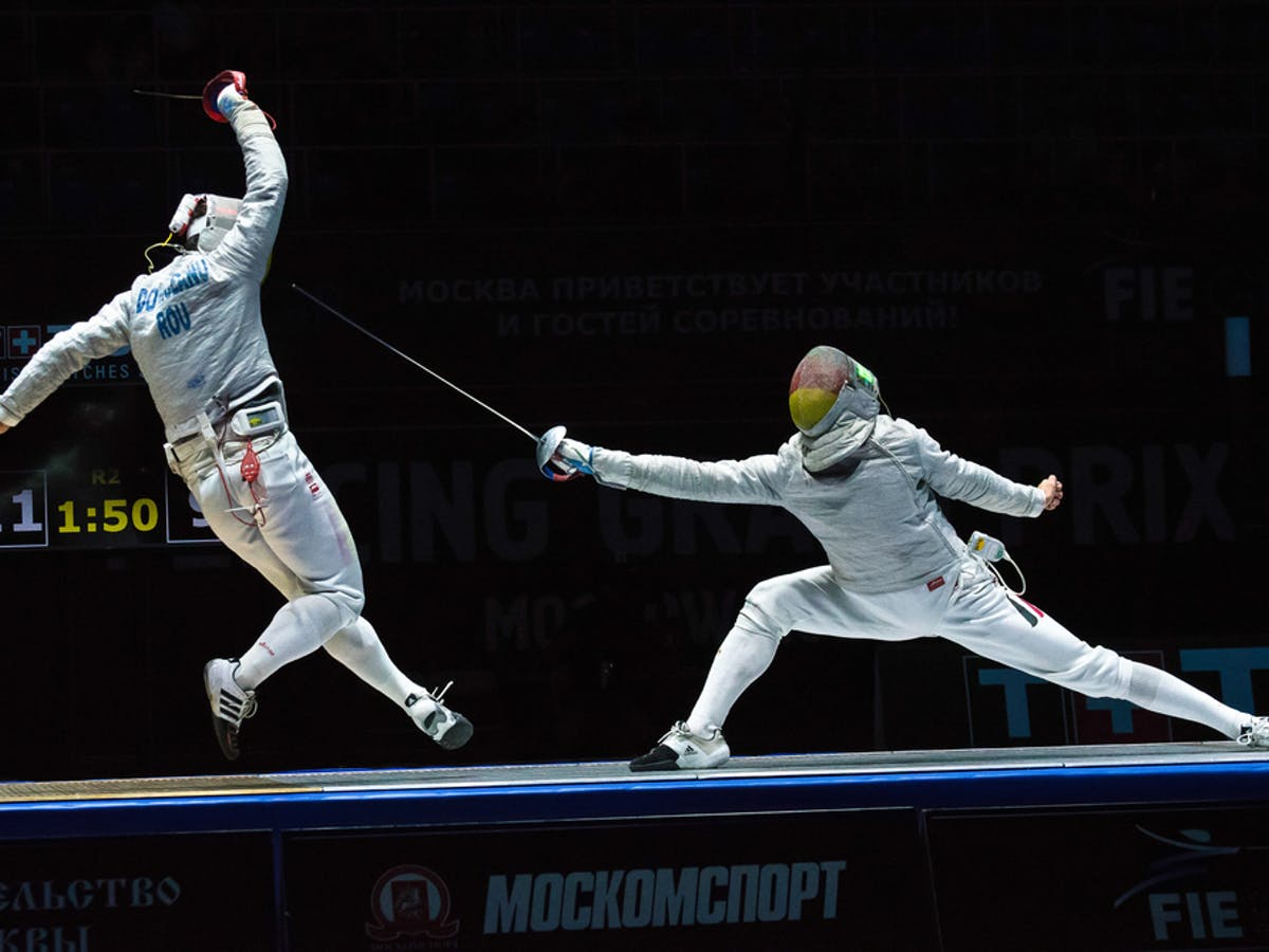 The science behind the Olympic sport of fencing