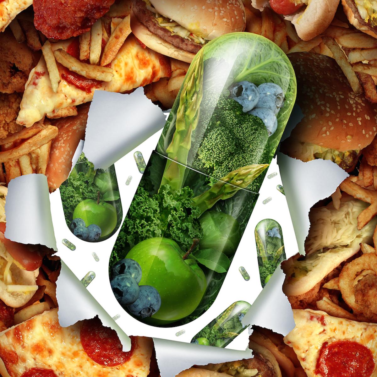 low fat diet vitamin supplements