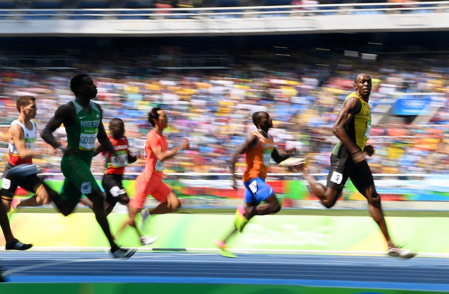 What food does it take to fuel athletes like Usain Bolt to Olympic