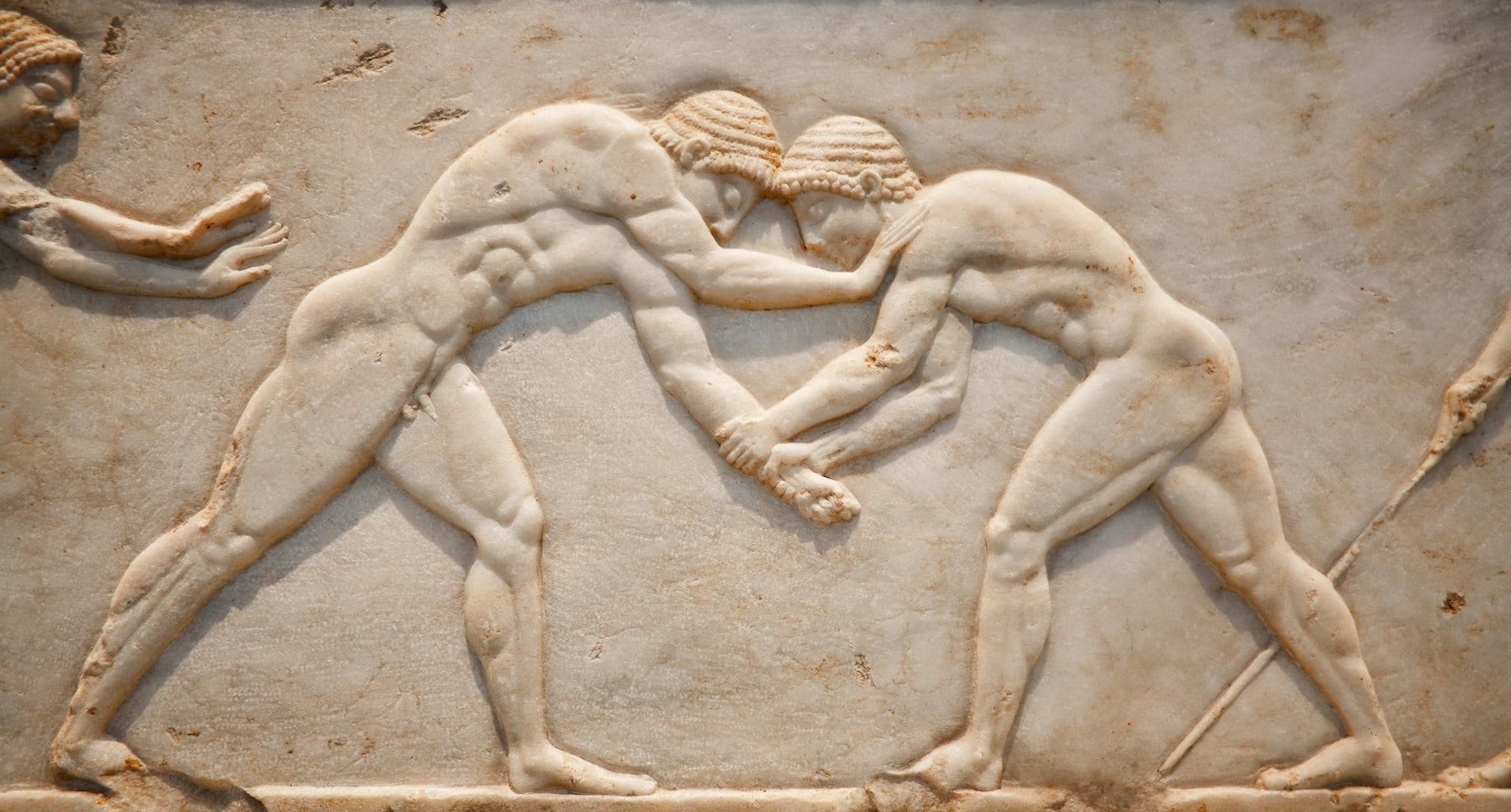 ancient olympics history